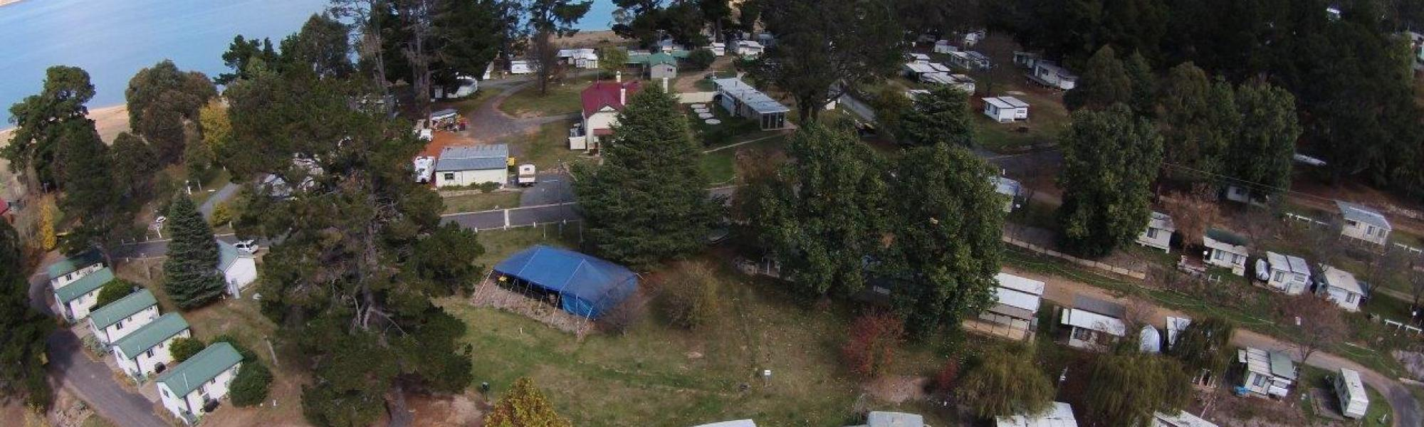 Rainbow Pines Caravan Park in the Heart of the Snowy Moutains